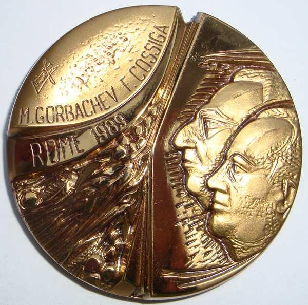 Горбачёв и Коссига