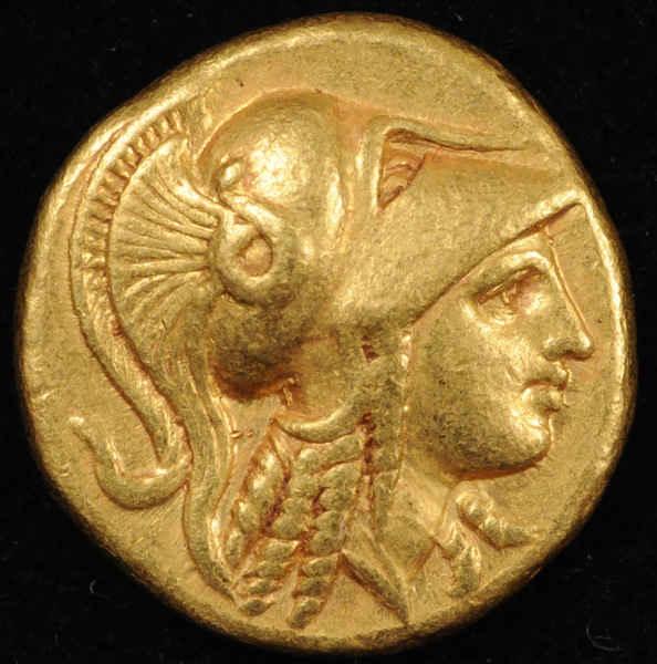 Статер. Александр III Македонский.