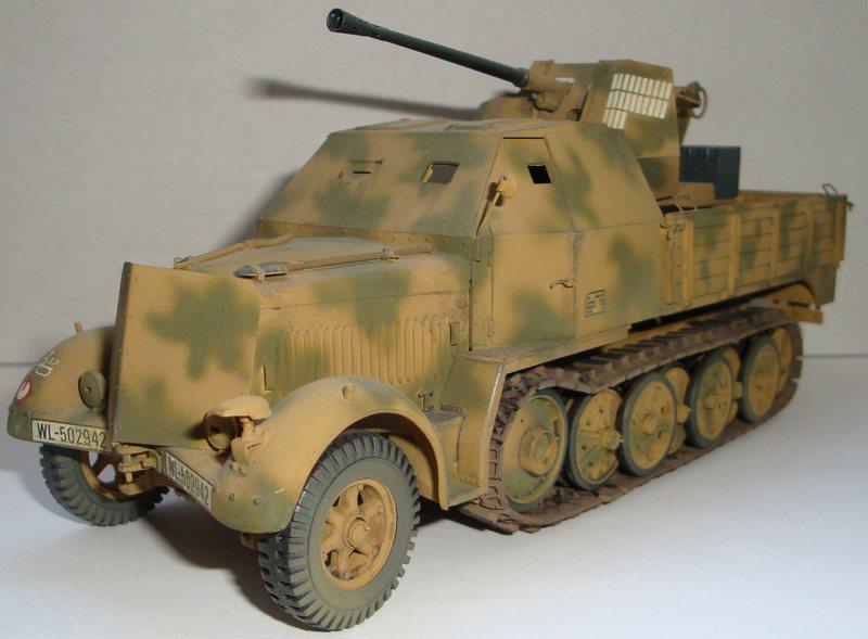 SdKfz 6/2 w.37mm Flak 36