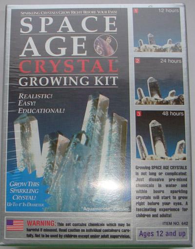 Набор для домашнего выращиванния кристаллов