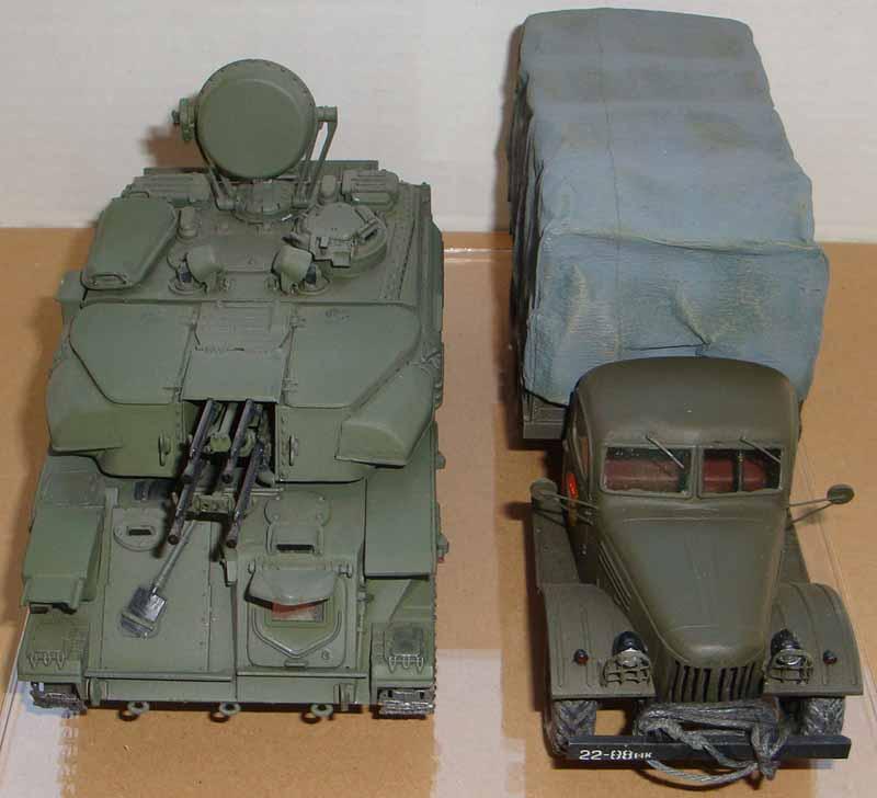 ЗИЛ-157 & ЗСУ-23