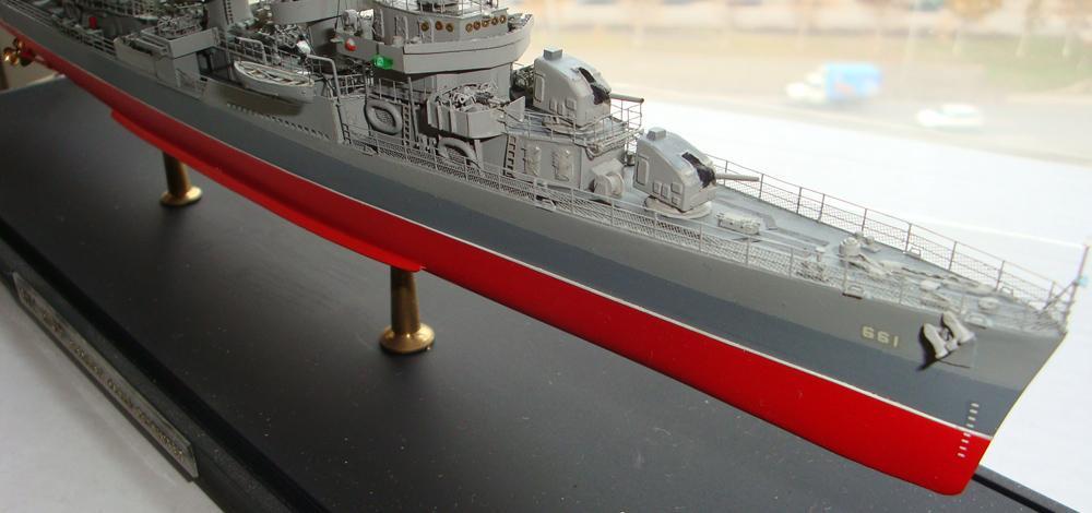Американский Эсминец Флетчер (Fletcher). 1:400