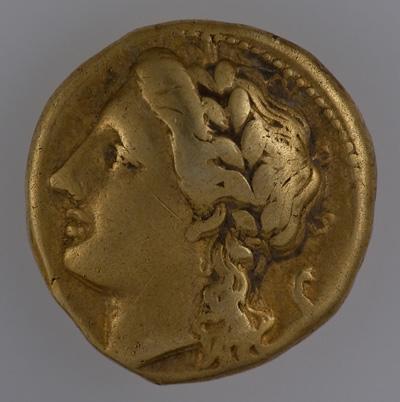 Сицилия, Сиракузы. 25 литр. Золото.