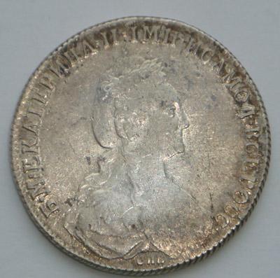Рубль 1777 год