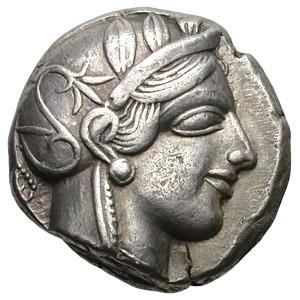 Аттика. Афины. Тетрадрахма.