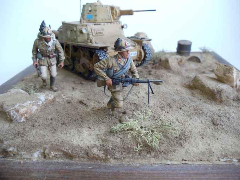 Сражение в Северной Африке