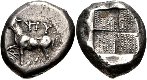 Тетрадрахма. Византий.
