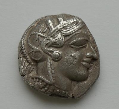 Тетрадрахма. Афины.
