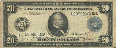20 долларов