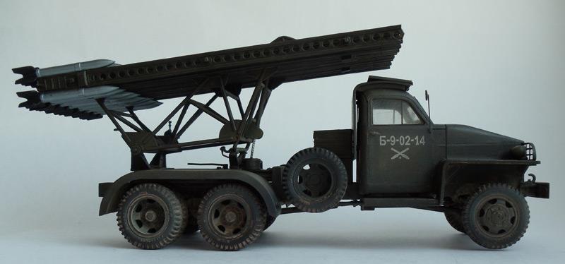 миномет БМ-13