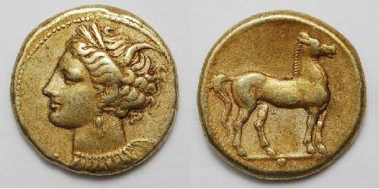 Карфаген / античные монеты / галерея.коллекция goodhobby. не только золото. / ваше хобби good hobby. античные монеты. фо.