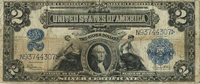 2 американских доллара