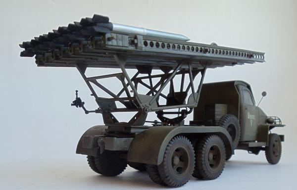 реактивный миномет БМ-13 на базе грузовика Судебекер