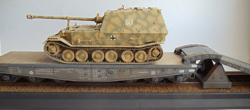 Платформа для перевозки тяжелых танков и САУ