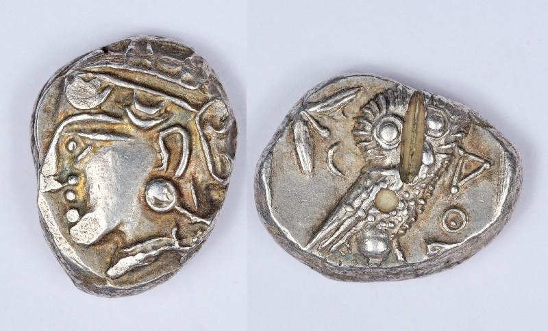 тетрадрахма с Афиной