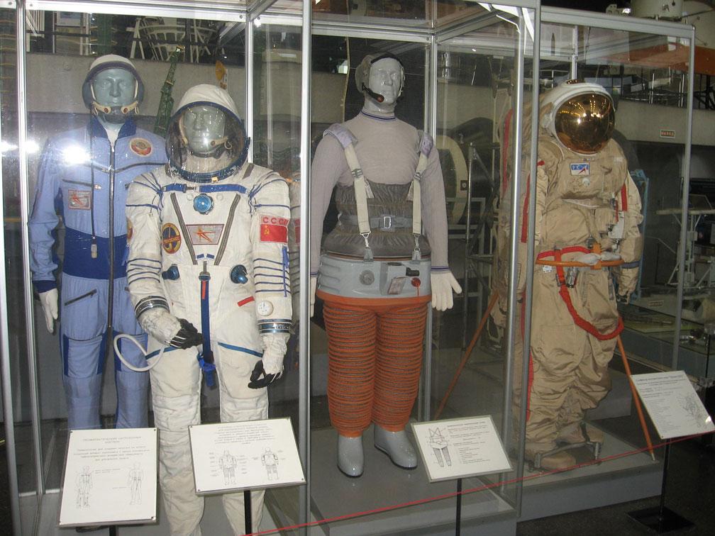 Скафандры советских космонавтов
