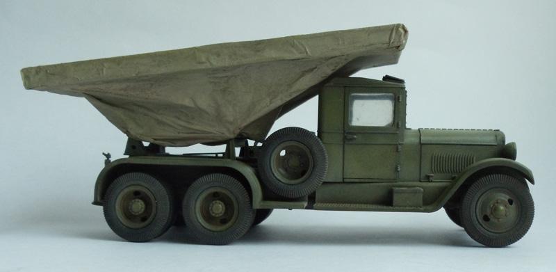 БМ-13 на базе грузовика ЗИС-6
