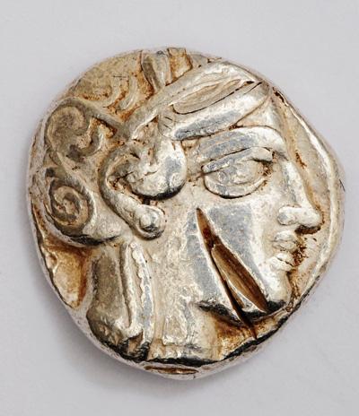 Афины. Тетрадрахма