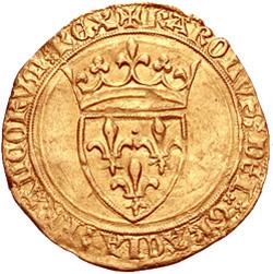 Франция. Экю 1380-1422