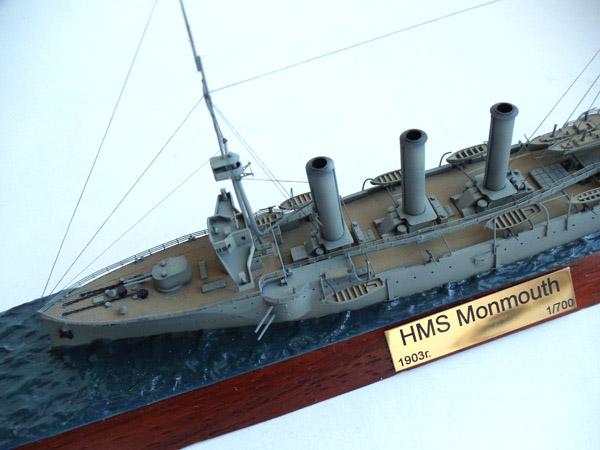 Английский крейсер Монтмут