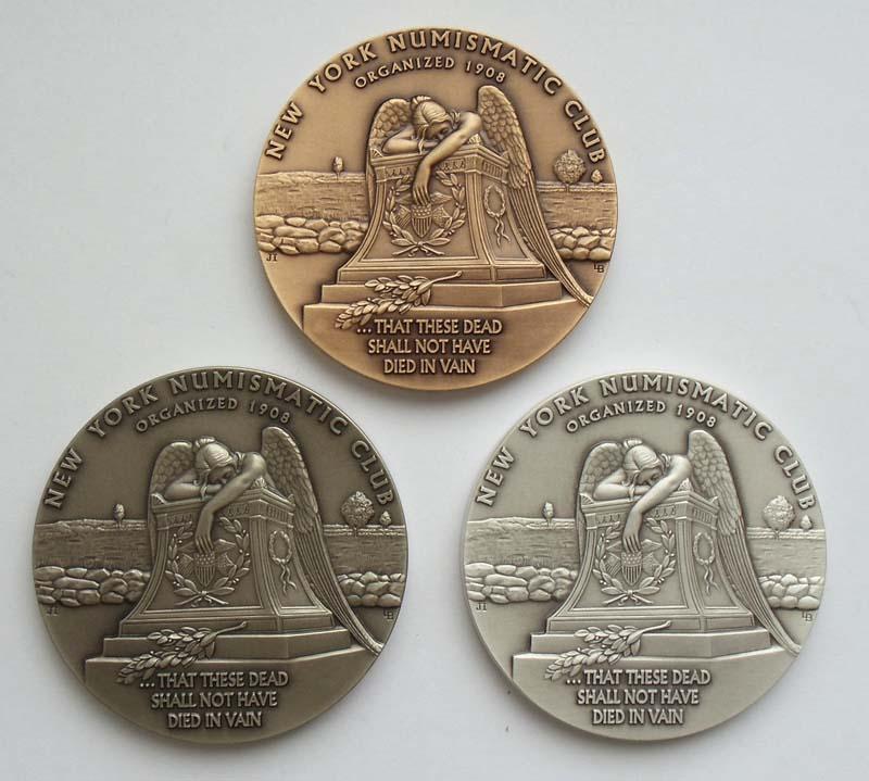 Набор медалей США