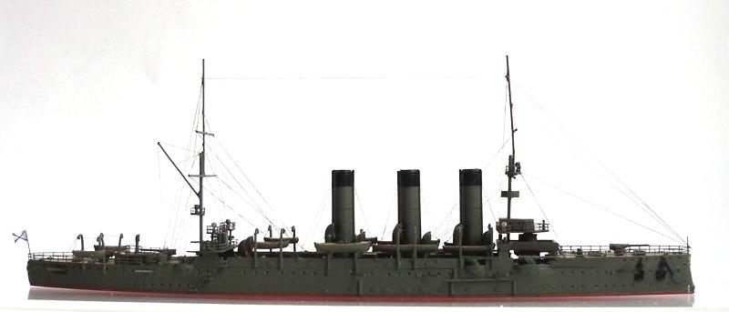 Русский бронепалубный крейсер 1-го ранга Диана