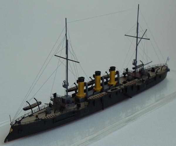 Русский бронепалубный крейсер 1-го ранга Светлана