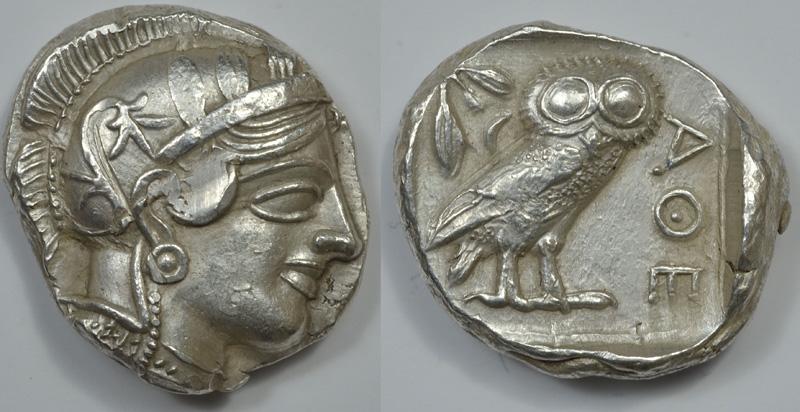 Афины. Тетрадрахмы