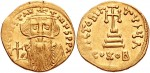 Византийский золотой солид Констанса