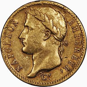 Франция. Наполеон. 20 франков