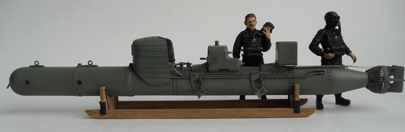 """S.L.C.200 """"Maiale"""". Итальянская человеко-торпеда времен 2-й Мировой войны."""