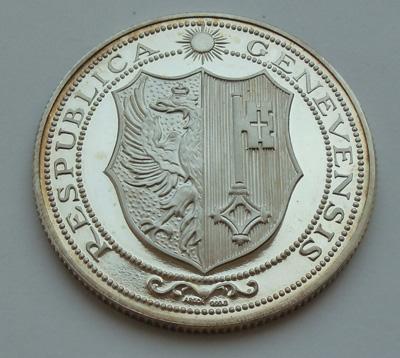 Серебряная медаль. Женева