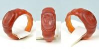Редчайшее римское кольцо с инталией