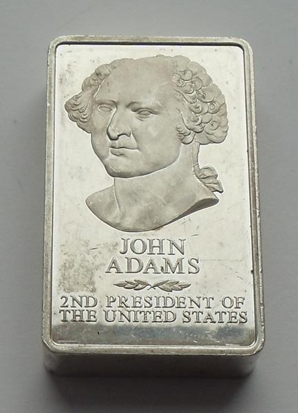 Коллекционный серебряный слиток. США
