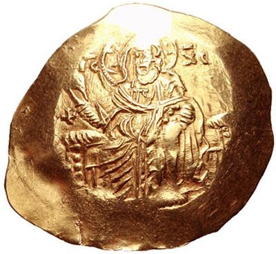 Гиперперон. Джон III Дукас. 1222-1254г. 4,33гр.