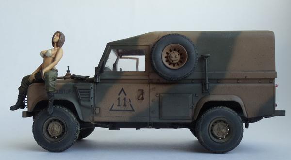 Британский внедорожник Lend Rover