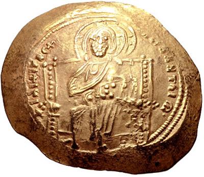 Constantine X Ducas. 1059-1067. AV Histamenon Nomisma