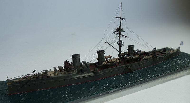 Русский крейсер 2-го ранга Новик