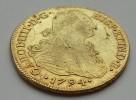 Peru, Charles IV, 1794 IJ, 8 Escudos