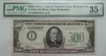 Банкнота номиналом 500 долларов США. 1934г
