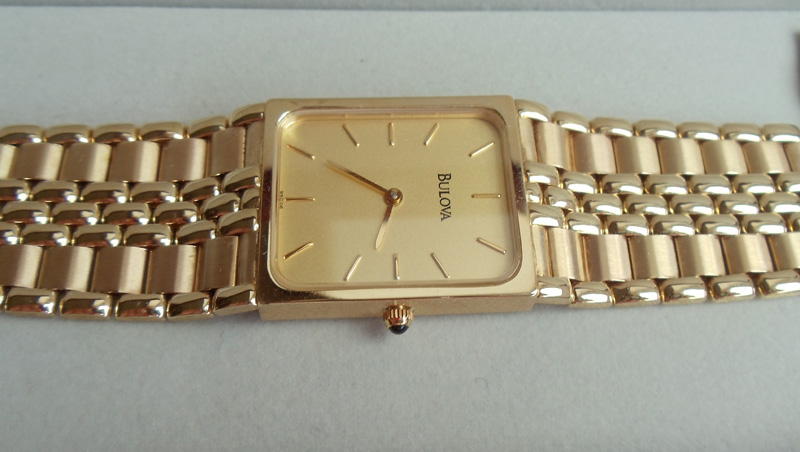 часы ника золотой браслет