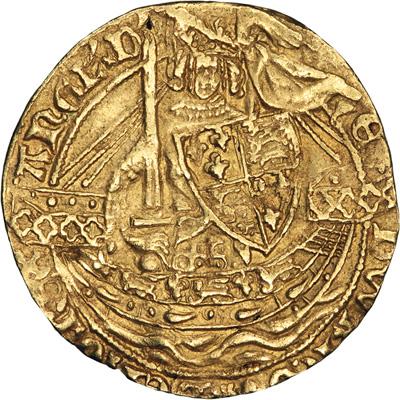 Edward III Half Noble