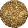Золотой нобль.  1461– 1485г. Вес 7,7гр.