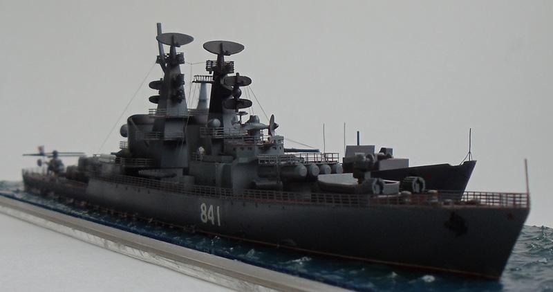 Ракетный крейсер Грозный