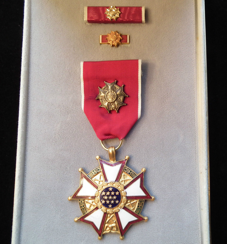 US Legion of Merit OFFICER Grade Medal