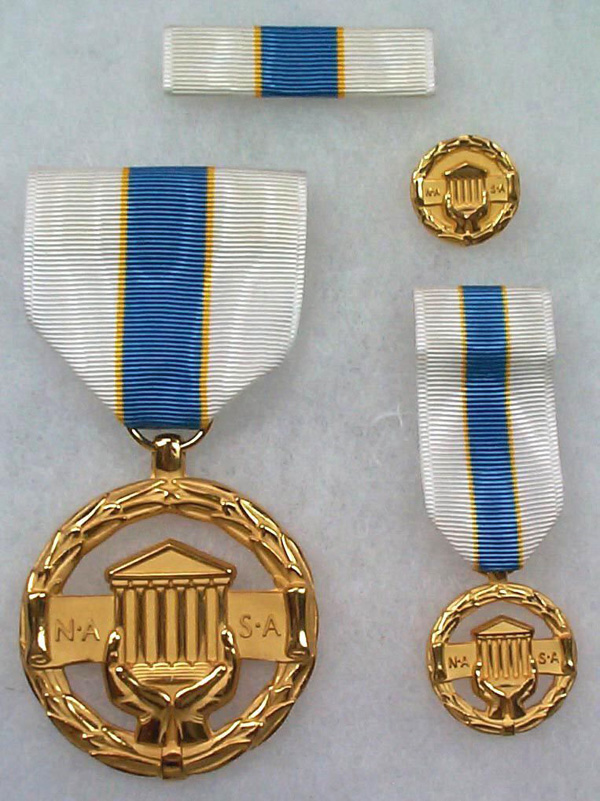 US NASA Space Agency Civilian Administrative Achievement Medal