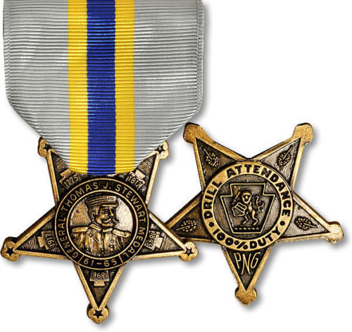 US Pennsylvania National Guard General Thomas J. Stewart Medal