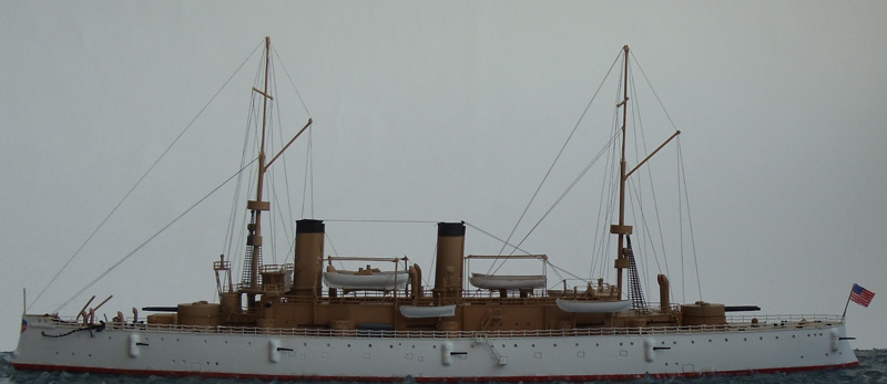 Бронепалубный крейсер Олимпия. США