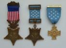 Медали Конгресса США - 3 шт.
