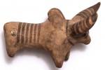 Терракотовая фигурка быка. 3-е тыс. д.н.э.
